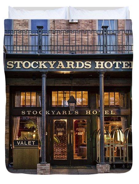 Stockyards Hotel Duvet Cover