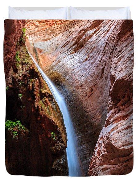 Stone Creek Fall Duvet Cover by Inge Johnsson