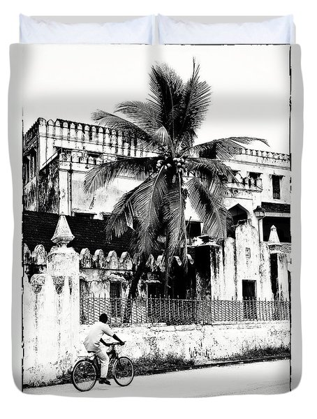 Tanzania Stone Town Unguja Historic Architecture - Africa Snap Shots Photo Art Duvet Cover by Amyn Nasser