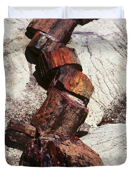 Stone Trees - 337 Duvet Cover