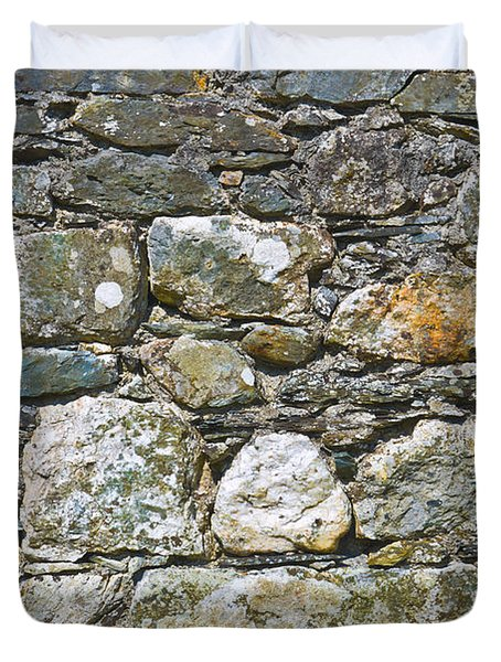 Stone Wall Duvet Cover by Jane McIlroy