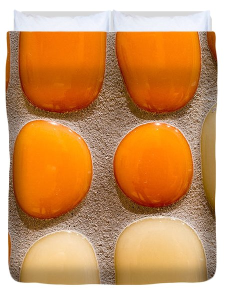 Stone Yolks Duvet Cover