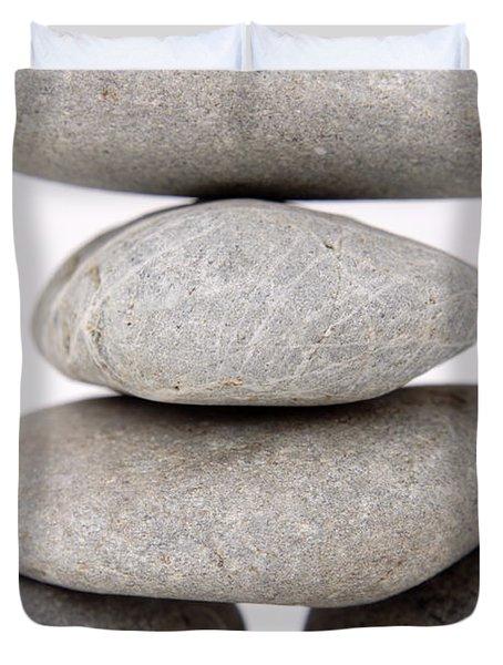 Stones Duvet Cover by Les Cunliffe