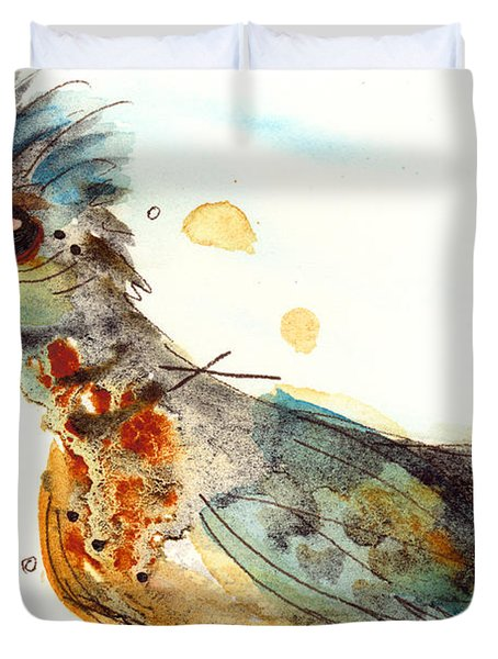 Stop And Smell What? Duvet Cover