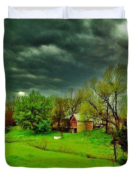 Storm Anticipation Duvet Cover by PainterArtist FIN
