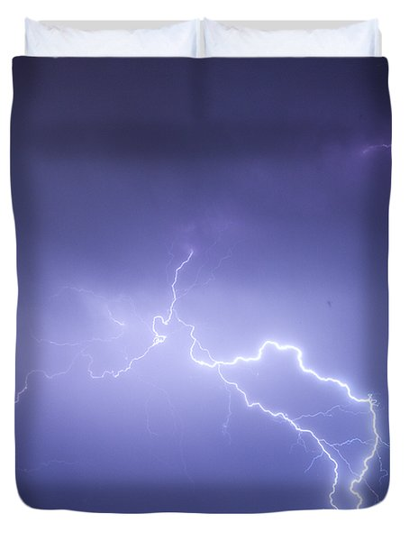 Storm Chase Six Twenty Eight Thirteen Duvet Cover by James BO  Insogna