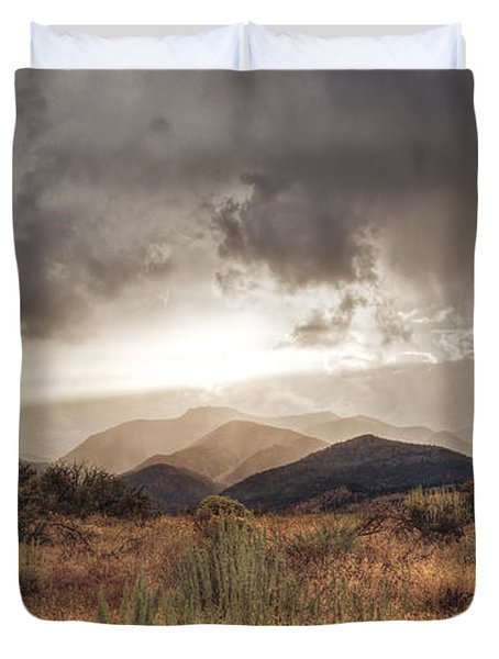 Storm Clouds Duvet Cover by Dianne Phelps