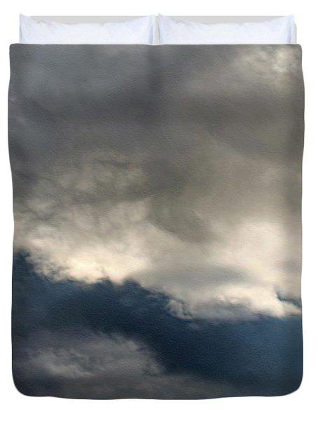 Storm Clouds Duvet Cover by J McCombie