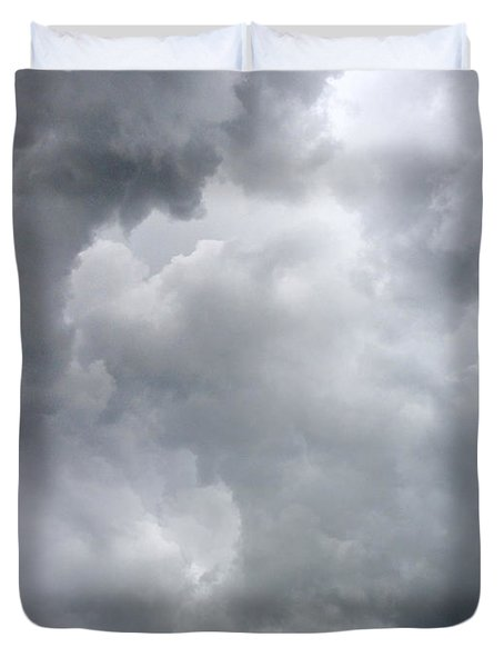 Storm Clouds Duvet Cover by Les Cunliffe