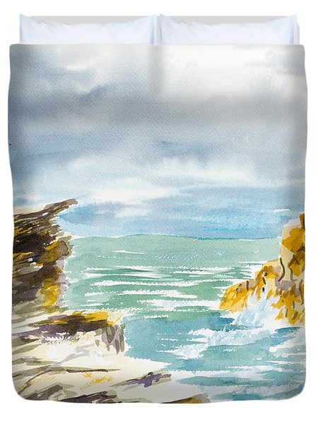 Storm Coming Duvet Cover