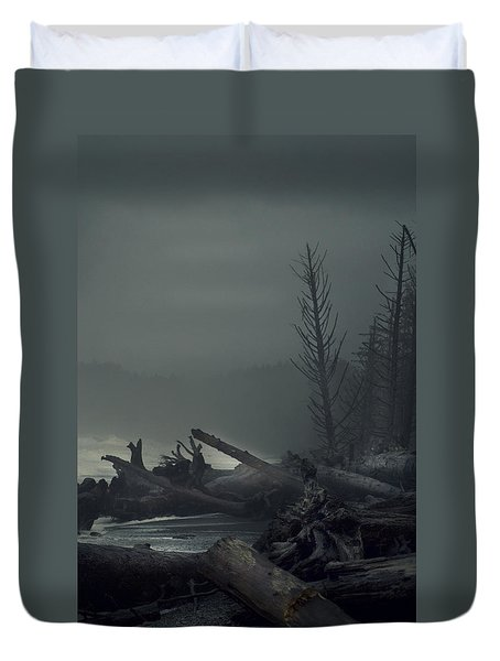 Storm Aftermath Duvet Cover