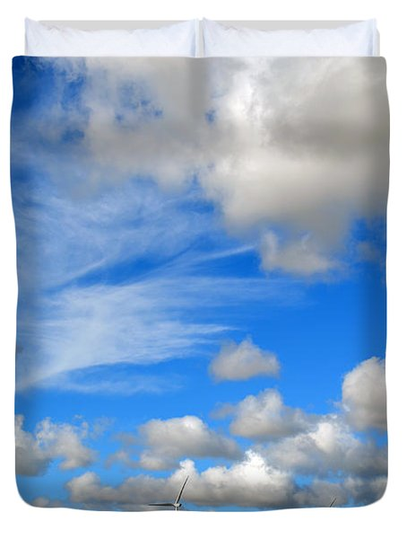 Storm Is Over Duvet Cover