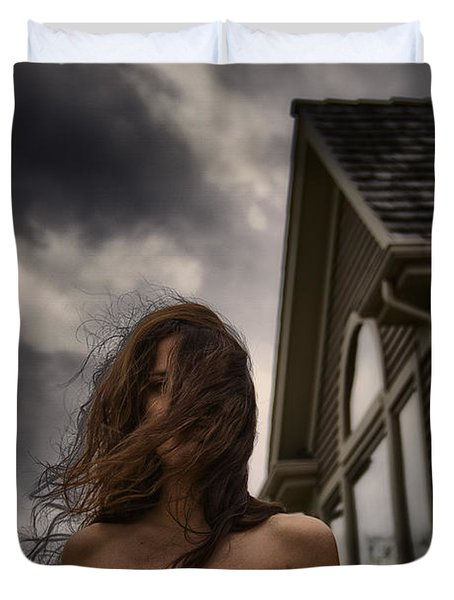 Storm Duvet Cover by Margie Hurwich