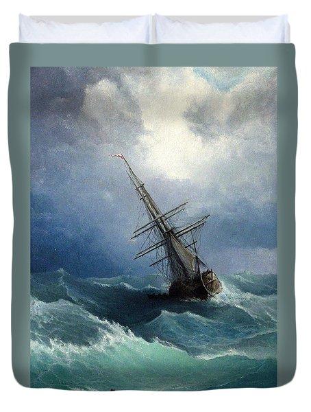 Storm Duvet Cover by Mikhail Savchenko