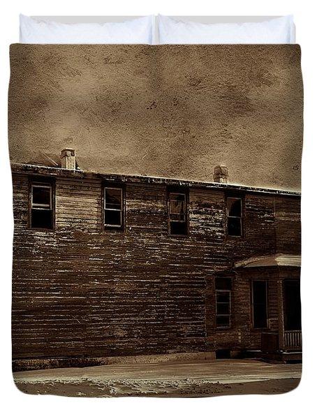 Storm Of 1888 Duvet Cover