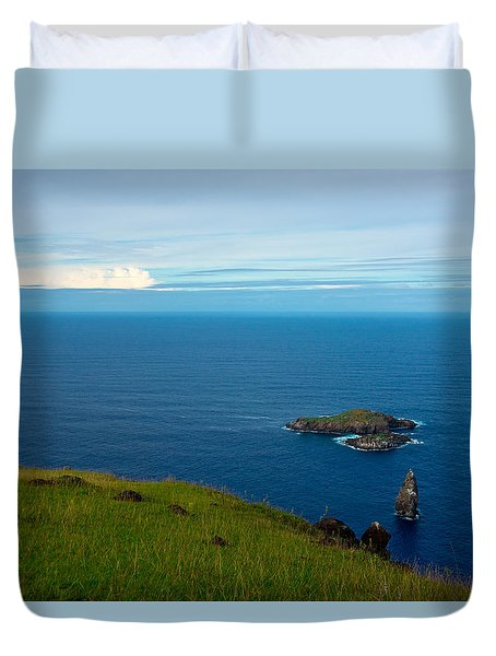Storm On The Horizon Duvet Cover