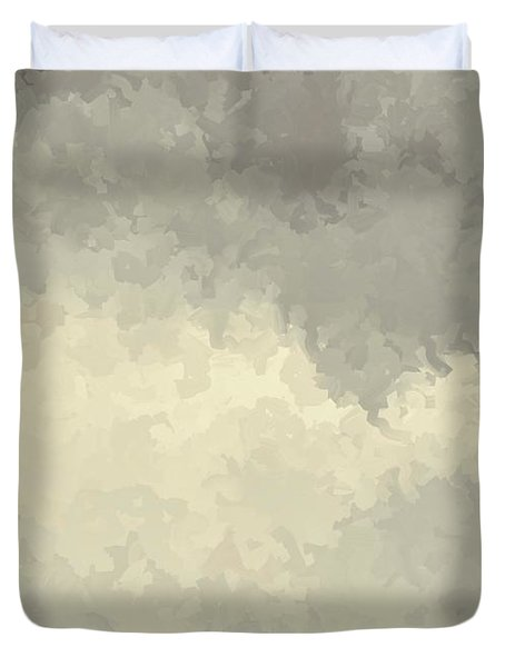 Storm Over A Cornfield Duvet Cover