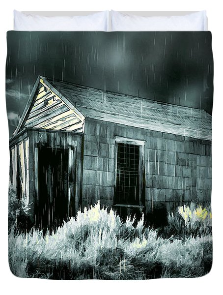 Storm Over Bodie Bordello Duvet Cover