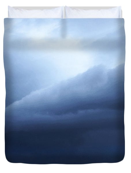 Storm Over Siesta Key - Beach Art By Sharon Cummings Duvet Cover by Sharon Cummings