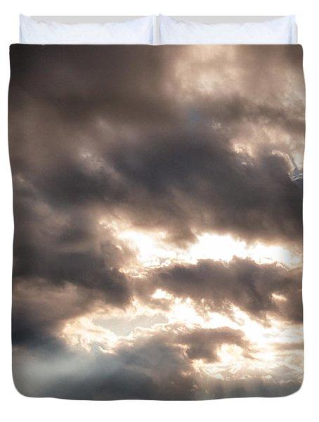 Storm Rays Duvet Cover