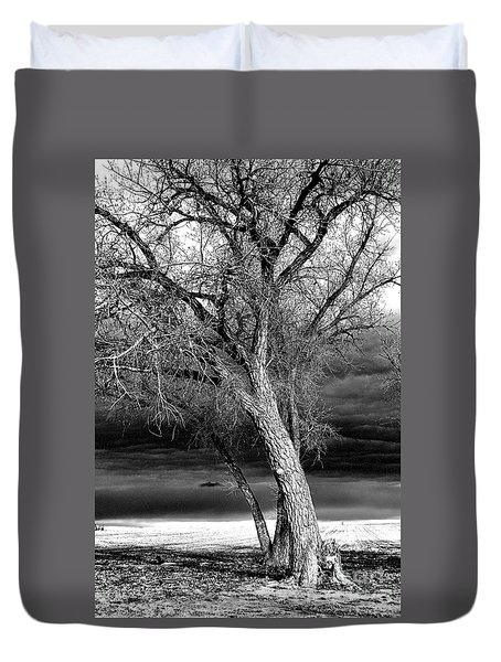 Storm Tree Duvet Cover