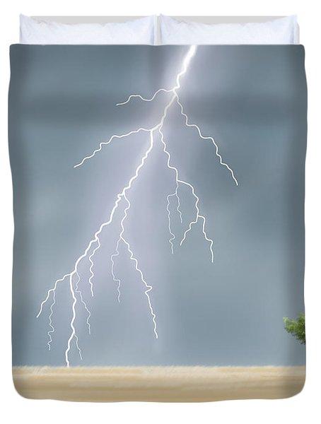 Storm Duvet Cover by Veronica Minozzi
