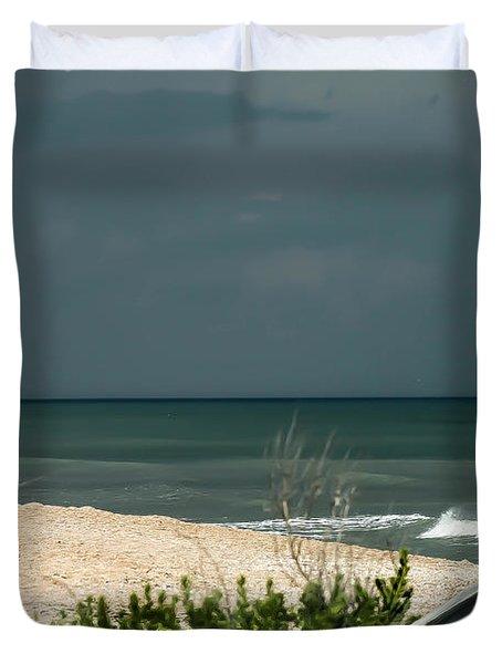 Storm Warning Duvet Cover