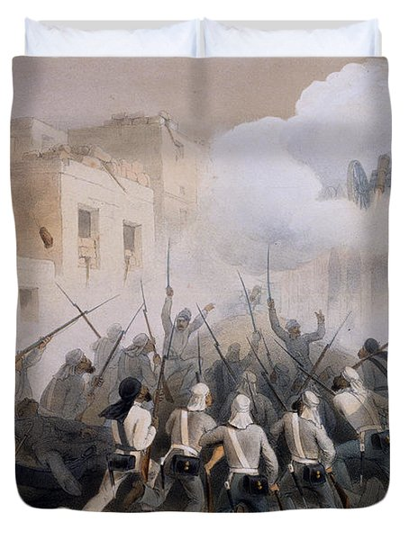 Storming Of Delhi 1857, From The Duvet Cover