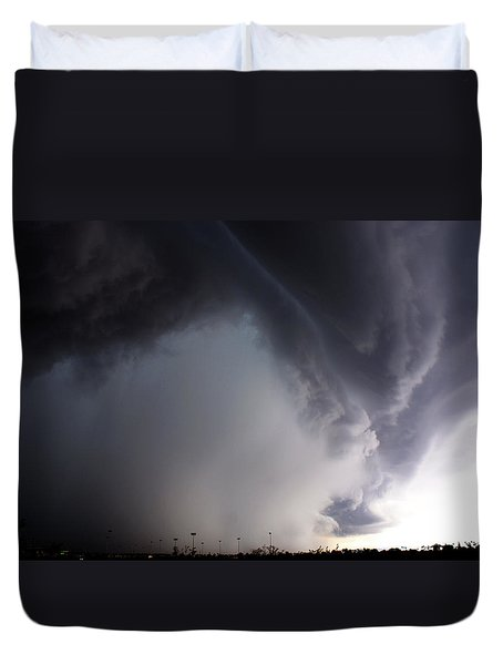 Storms Fury Award Winner Duvet Cover