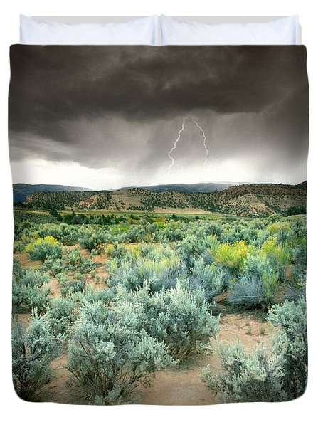 Storms Never Last Duvet Cover