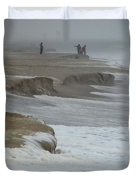 Stormy Day Duvet Cover by Kim Bemis