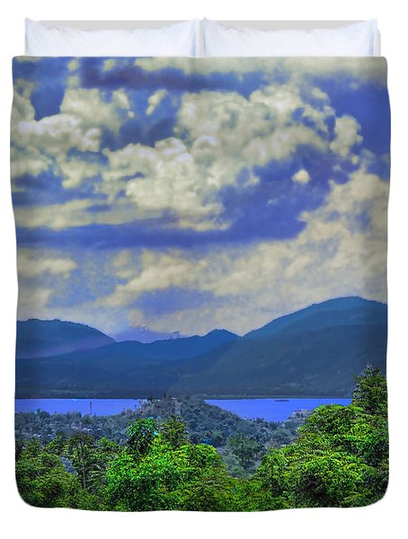 Stormy Days Duvet Cover by B Wayne Mullins