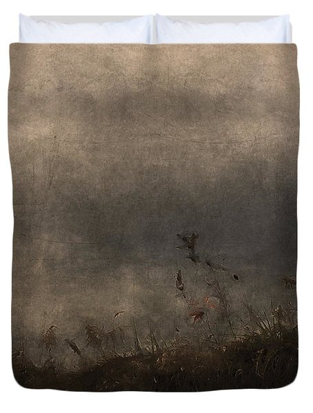 Stormy Mondays Duvet Cover by Ron Jones