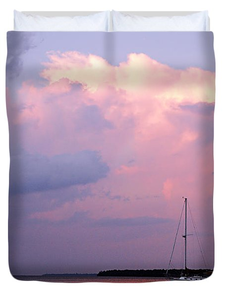 Stormy Seas Ahead Duvet Cover