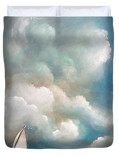 Stormy Sunday Duvet Cover