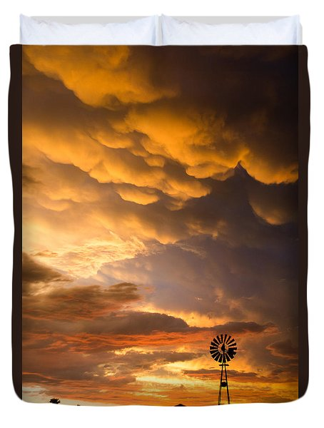 Stormy Sunrise Duvet Cover