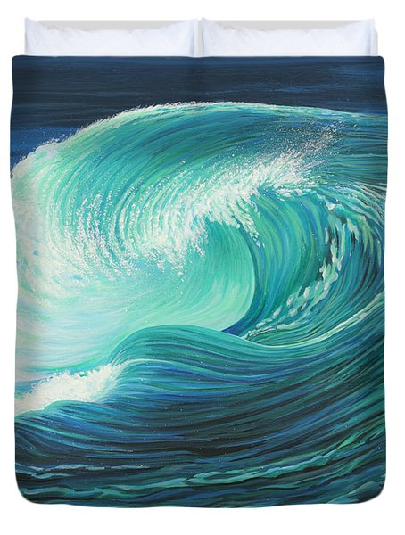 Stormy Wave Duvet Cover