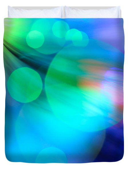 Strangers In The Night Duvet Cover