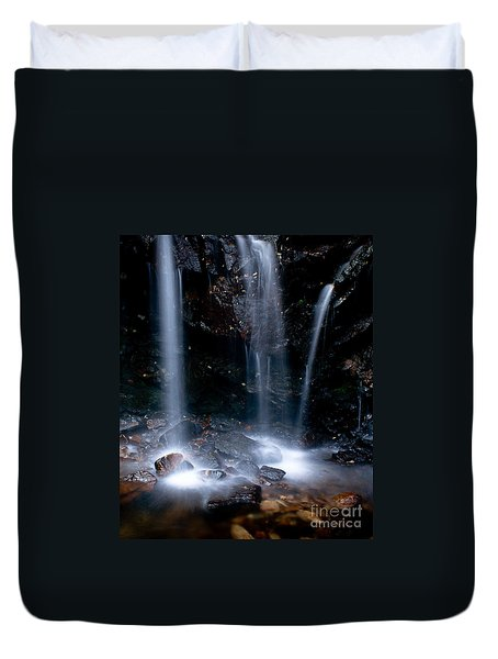 Streams Of Light Duvet Cover