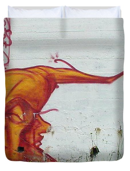 Street Art 4 Duvet Cover