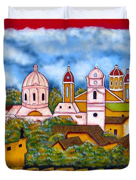 Street Art Granada Nicaragua 3 Duvet Cover
