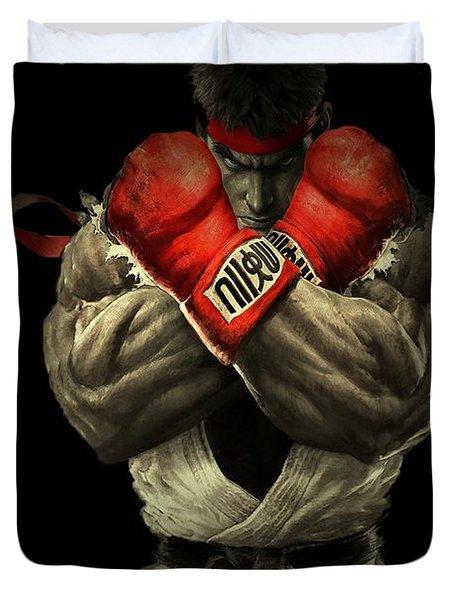 Street Fighter Duvet Cover