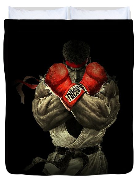 Street Fighter Duvet Cover