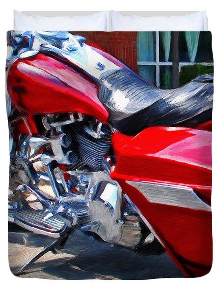 Street Glide Duvet Cover