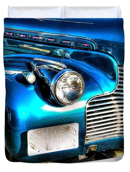 Street Rod Duvet Cover by Debbi Granruth