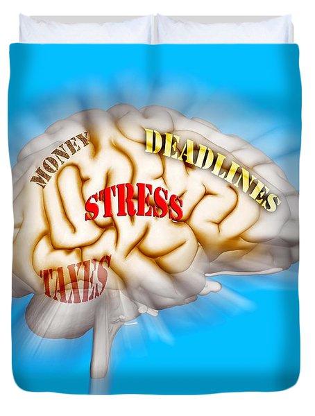 Stress Duvet Cover