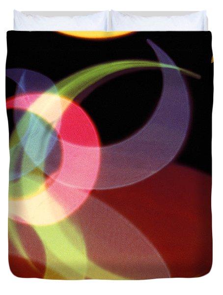 String Of Lights 1 Duvet Cover by Mike McGlothlen