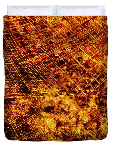 Strings Of Life Duvet Cover