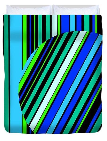 Striped Circle  C2014 Duvet Cover