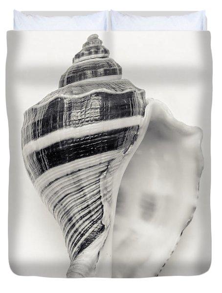 Striped Sea Shell Duvet Cover
